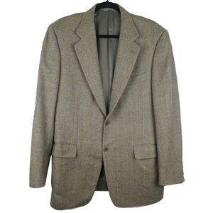 Canali Cashmere Lana 2 Button Sport Coat 40R